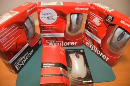Microsoft Intellimouse Explorer 3.0 - BNIB - X06 X08 X80 Legend Edition LE