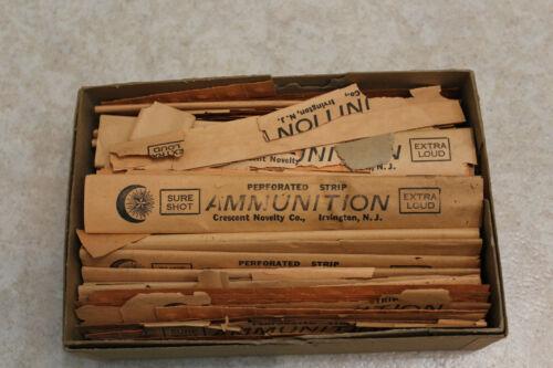 Sure Shot Ammunition Caps, Crescent Brand With Box
