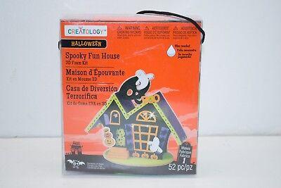 New Halloween 3D Foam Kit 52pc Creatology Spooky Fun House From - Michaels Halloween Foam Crafts