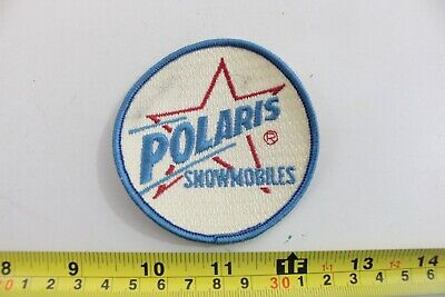 Vintage Polaris Snowmobile Patch Sew On Jacket Shirt Hat Advertising -A11