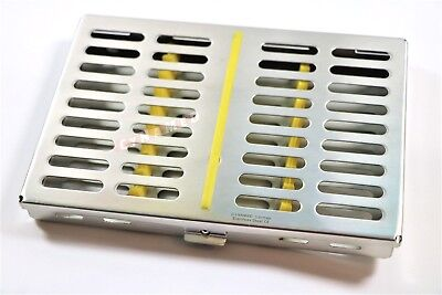 German Dental Surgical Autoclave Sterilization Cassettes Box For 10 Instrument