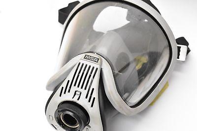 Msa Ultra Elite 10037652 Full Face Respirator Grey