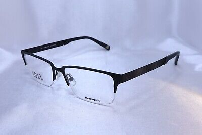 MARCHON COLONY in Black 53-17-140 Eyeglass Frames Flex Hinges Authentic New (Colonial Eyeglasses)