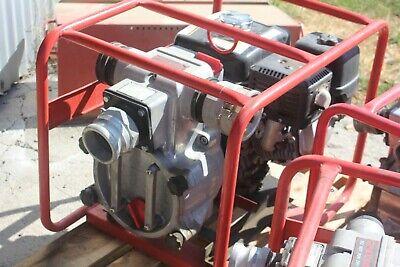 Honda Multiquip Mq Qp3th 3 Water Pump Gas Powered