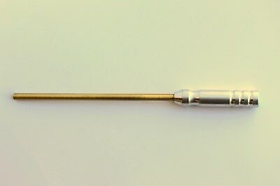 .22-.25 CAL. BRASS PISTOL CLEANING ROD EMSS7017 EASTERN MAINE SHOOTING SUPPLIES
