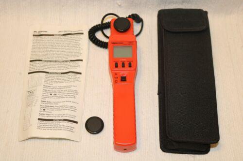 Meterman LM631 Digital Light Meter with Case