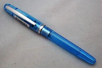 PLATINUM COOL SERIES BLUE FOUNTAIN PEN  FINE NIB PGB 3000A