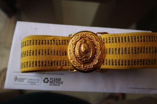 Soviet General Parade Belt+Buckle[1965-1980]