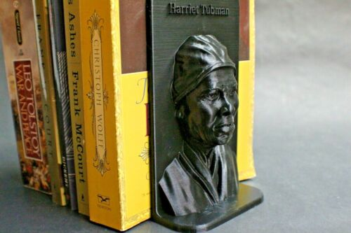 Harriet Tubman Famous American Abolitionist Book Stand End Book Frame FREE SHIP