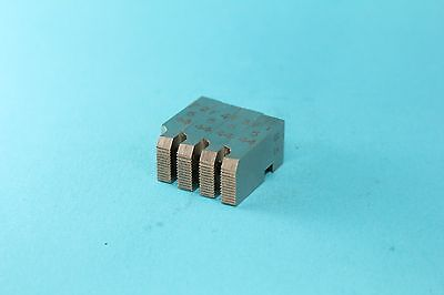 """GEOMETRIC 3//16/""""-32 MILLED CHASERS FOR 5//16/"""" D GROUND FROM SHARPENING DS,DSA"""