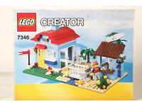 1x Lego Bauanleitung A4 Heft zu Strandhaus 2 für Set Creator 3in1 7346
