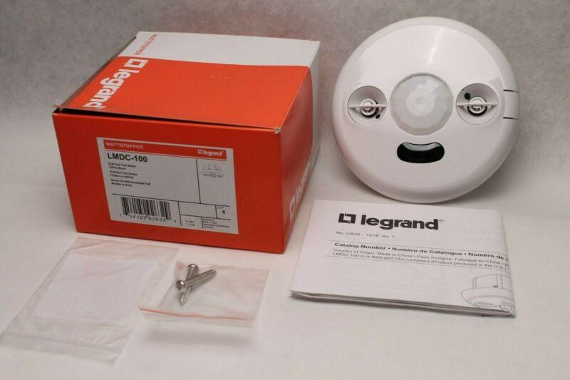 LeGrand - Wattstopper LMDC-100 DLM Dual Tech Sensor - Ceiling Mount - White