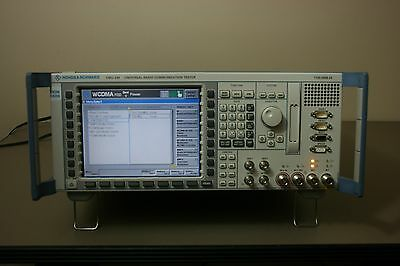 Rohde Schwarz Cmu200 With Gsm C2k Wcdma Audio Loaded Calibrated Warranty