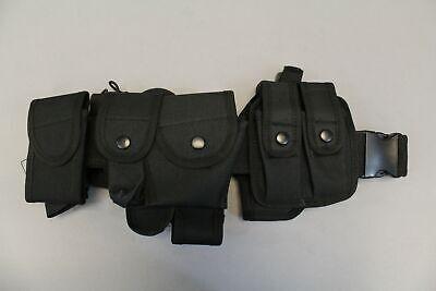 Odoland Versatile Police Tactical Modular Equipment Belt Cl8 Black One Size