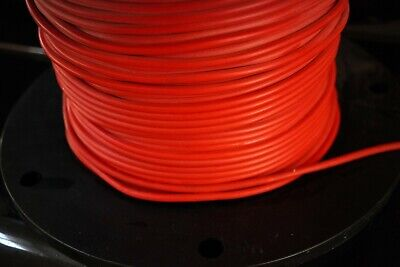 Mil-grade Silicon Tesla Coil 18 Awg Red Wire 25