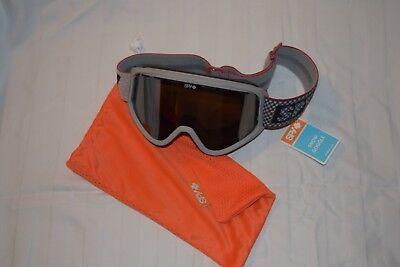 9e1196ce2ef2 NEW Spy T3 Woot Silver Mirror Mens Ski Snowboard Goggles