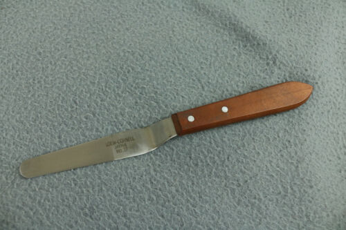 LOEW-CORNELL Artist Palette KNIFE # 17 Wood Handle