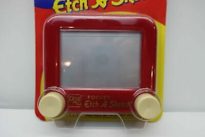 Ohio Art 1997 Pocket Etch A Sketch -Red Ages 4 And Up Still In Original Package