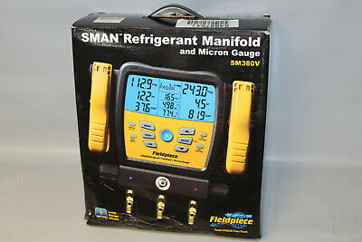 New Fieldpiece Sm380v Sman Refrigerant Manifold And Micron Gauge