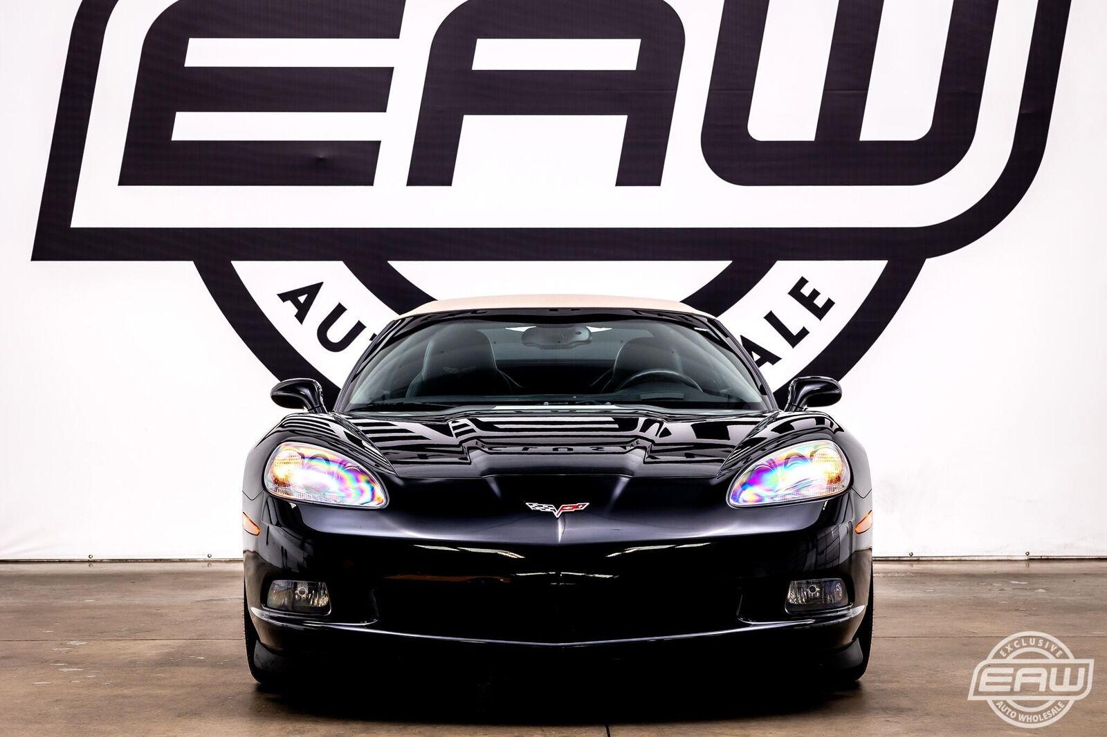 2008 Black Chevrolet Corvette Convertible  | C6 Corvette Photo 7