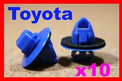 For Toyota 10 POM moulding fastener clips