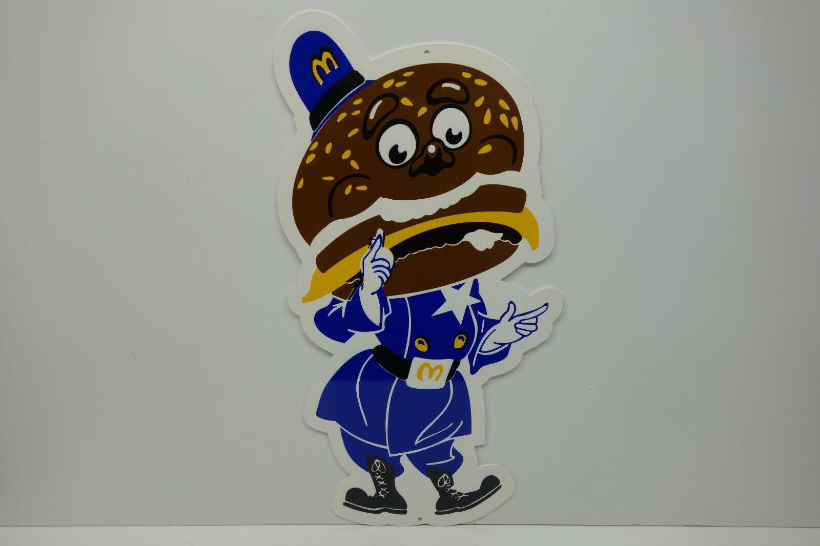 "BIG MAC COP, (OFFICER BIG MAC) HEAVY DUTY DIE CUT SIGN 12.5"" BY 24"" 1/8"" STEEL"