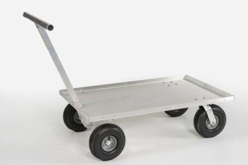 Push Wagon All Aluminum Cart All purpose Garden Center Fishing Made in USA 🇺🇸