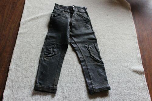 Vintage 1960s 70s  Original  BUCO Leather Motorcycle Pants-Size-30