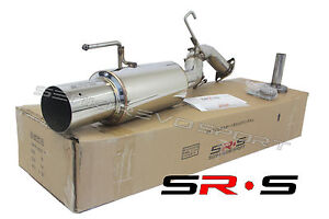 SRS R1 AXLE BACK EXHAUST FOR MITSUBISHI LANCER 2012 2013 2014 2015 16 FWD ONLY