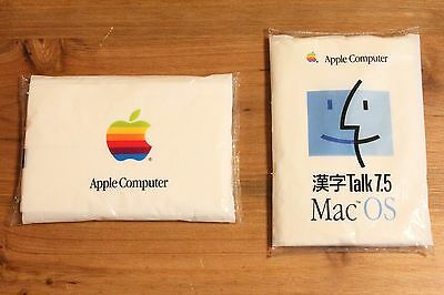 Very Rare Genuine Apple Performa Mac OS Pocket tissues Rainbow Novelty Promo