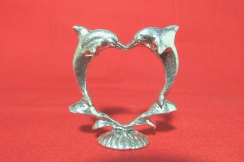 Pewter Dolphin  Figurine