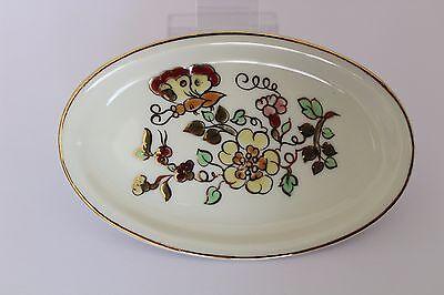 ZSOLNAY PECS 9260/026 HAMUTÁL Gold Ungarn Hungary porcelain Porzellan 11,5 cm