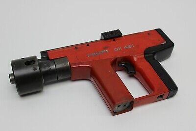Hilti Dx 451 Powder Actuated Nail Gun