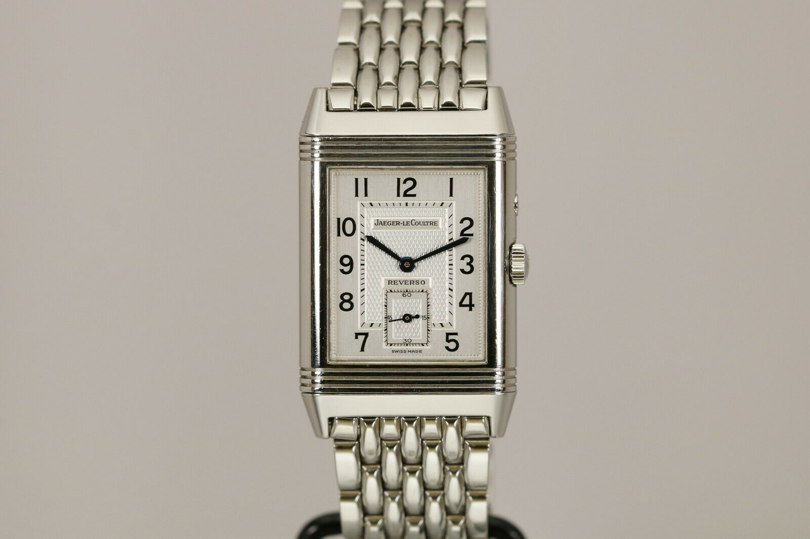 Jaeger LeCoultre Reverso Duo Day Night Stainless Steel Mechanical Watch 270.8.54 - watch picture 1