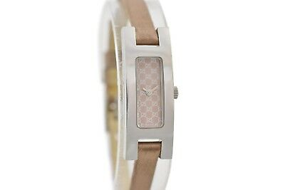 Vintage Gucci 3900L Stainless Steel Quartz Petite Ladies Watch 1731