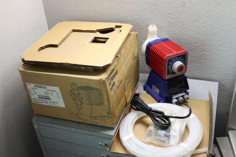 Walchem IWAKI Metering Pump EHE56E1-FC 20GPH 30PSI EH PVDF 115V