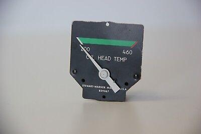 Stuart Warner Cylinder Head Temp Gauge 880017 // 829367