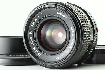 【EXCELLENT+5】 Canon New FD 35mm f/2 NFD MF Wide Angle Lens w/ Hood From JAPAN 17