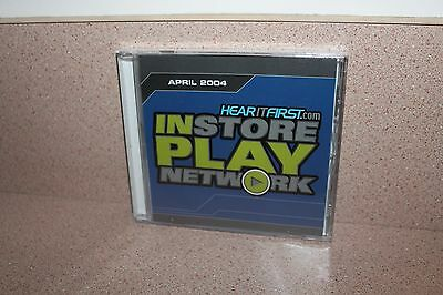 Instore Play Network Hear It First Com New   Sealed Cd April 2004 Orrico Avalon