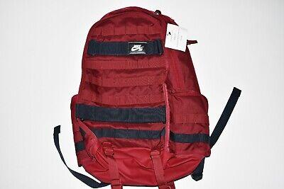 New Unisex Nike SB RPM Skateboard Backpack Maroon Black BA5403-677