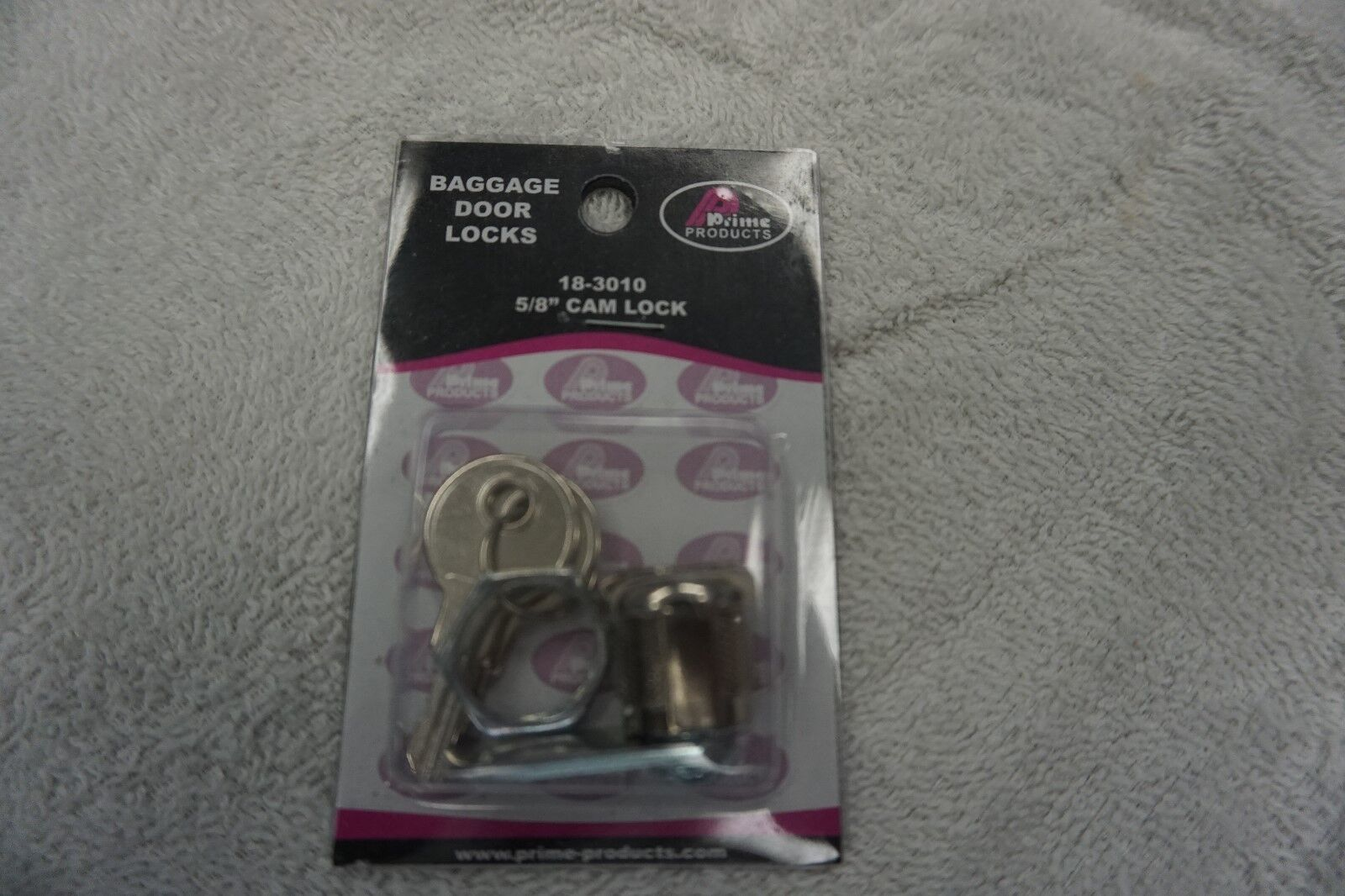 """PRIME PRODUCTS 5/8"""" STANDARD KEY CAM LOCK 18-3010"""