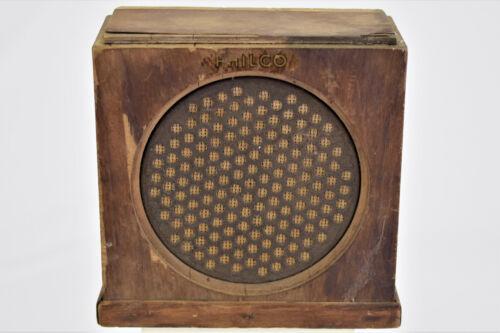 Antique PHILCO 902 Speaker - Untested, AS IS