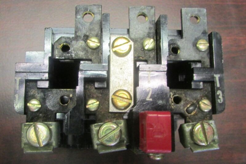 WESTINGHOUSE CUTLER HAMMER 30 Amp Overload Relay AN12X