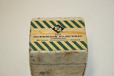 Nos Powerstat Variable Autotransformer Superior Electric Co. Type 10 B Nos