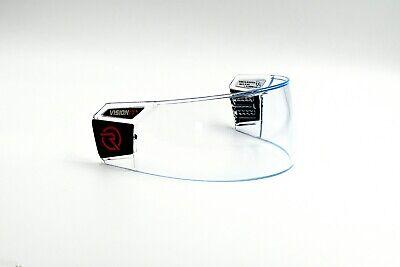 1-PACK RONIN HIRO-3 Hockey Visor (Anti-Fog/Scratch) Sr. Size - AMAZING OPTICS Anti Fog Hockey Visor