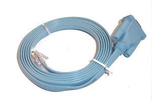 NEW-Console-Cbl-RJ45-DB9-eq-72-3383-01-CCNA-CCNP-CCIE