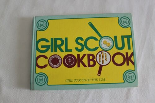 Vintage Girl Scout Cook book Girl Scouts of America 1971 Pre-Owned