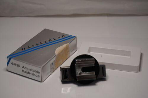 {UNUSED w/Box} HASSELBLAD Adjustable Flash Shoe 43125 for 500 series Japan #997