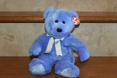 NEW TY RARE RETIRED BEANIE BUDDIES CLUBBY II EXCLUSIVE OFFICIAL CLUB BEAR BUDDY