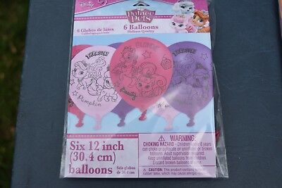 6 NIP Disney Princess Palace Pets Birthday Party 12
